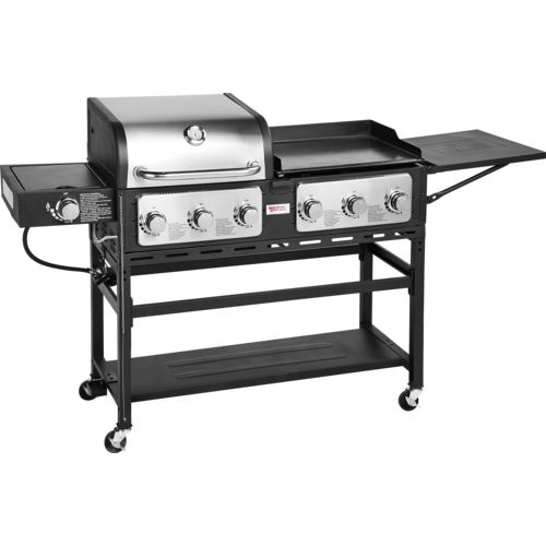 Outdoor Gourmet Pro Triton 7-Burner Propane Grill and Griddle Combo