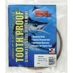 American Fishing Wire Tooth Proof 174 lbs - 30 ft Single-Strand Leader Wire - view number 1