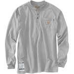 Carhartt Men's Flame-Resistant Force® Cotton Long Sleeve Henley