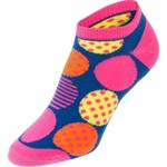 BCG™ Kids' Fluorescent Multicolor Floral No Show Socks 6-Pack