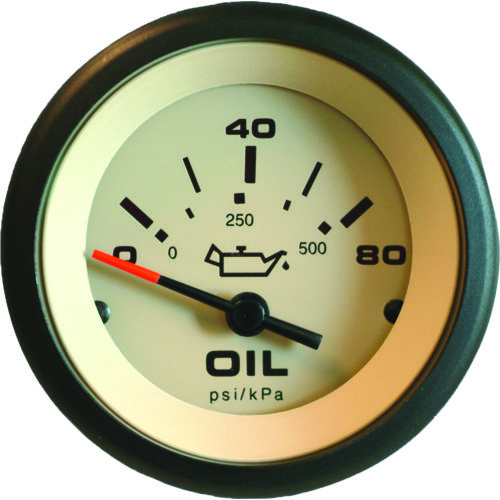 SeaStar Solutions Sahara Oil Pressure Gauge