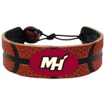 GameWear Adults' Miami Heat Alternate Logo Basketball Bracelet