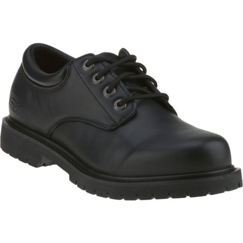 SKECHERS Menu0026#39;s Relaxed Fit Cottonwood Elks Slip-Resistant Work Shoes | Academy