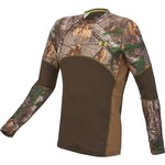 Under Armour® Men's ColdGear® Infrared Scent Control Tevo Camo Crew Shirt