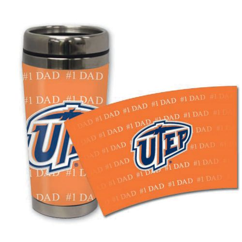 The Fanatic Group University of Texas at El Paso 16 oz. Stainless-Steel Tumbler