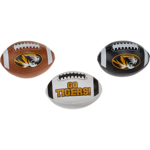 Rawlings® Boys' University of Missouri 3rd Down Softee 3-Ball Football Set