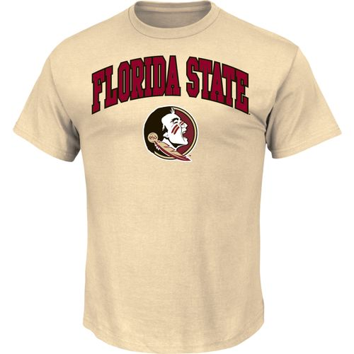 Majestic Men's Florida State University Section 101 Arch Mascot T-shirt