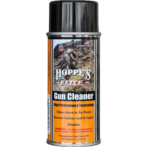 Display product reviews for Hoppe's Elite 4 oz. Aerosol Gun Cleaner