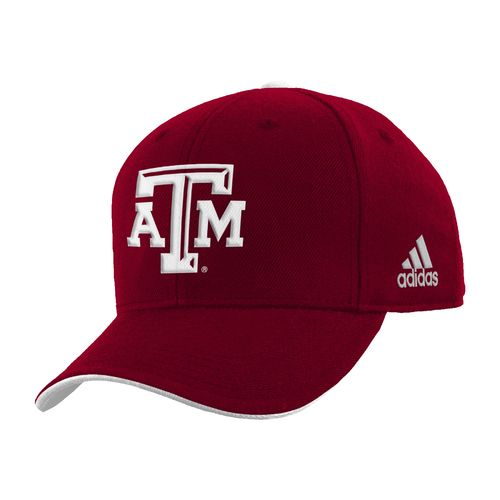 adidas™ Boys' Texas A&M University Basic Structured Adjustable Cap