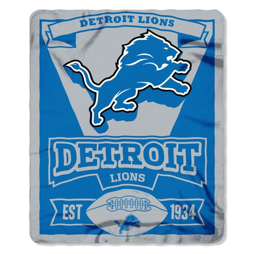 The Northwest Company Detroit Lions Marquee Fleece Throw