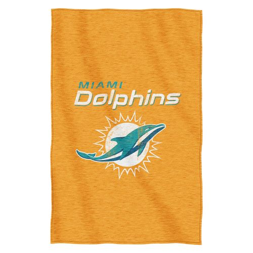 The Northwest Company Miami Dolphins Sweatshirt Throw