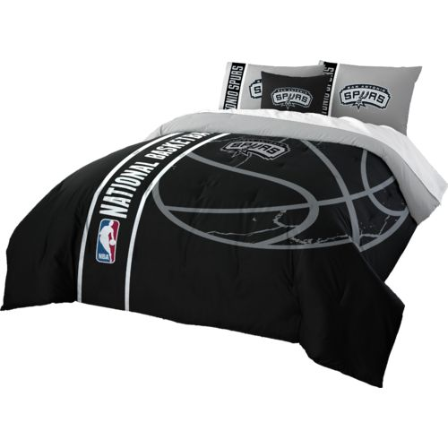 The Northwest Company San Antonio Spurs Full Comforter and Sham Set