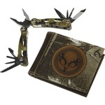 Magellan Outdoors™ Men's Bifold Wallet and Multi-Tool Combo