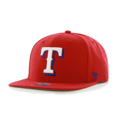 '47 Adults' Texas Rangers Sure Shot Captain Snapback Cap