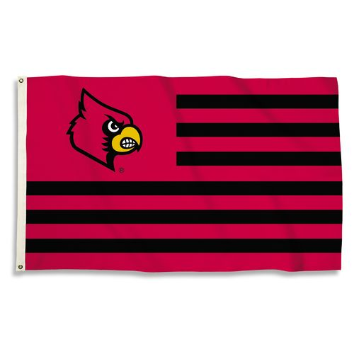 BSI University of Louisville USA Motif Flag