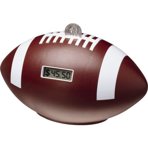 ManCave Collection Football Digital Coin Bank