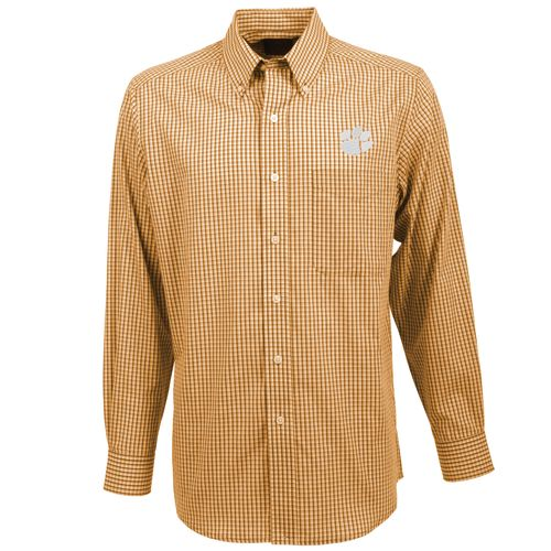 Antigua Men's Clemson University Associate Button-Down Shirt