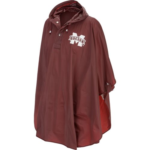 Storm Duds Adults' Mississippi State University Heavy-Duty Rain Poncho