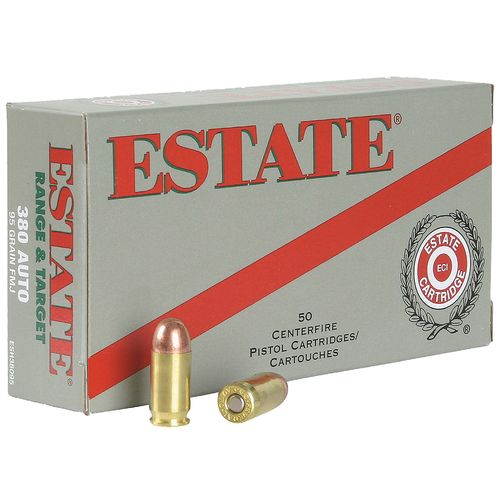 Estate Cartridge Full Metal Jacket .380 ACP 95-Grain Centerfire Pistol Ammunition