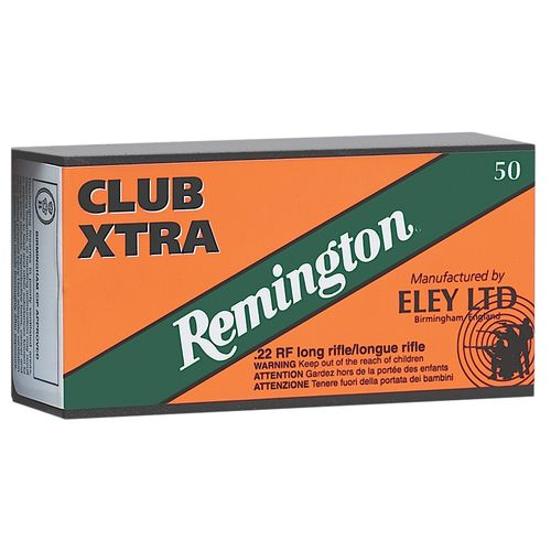 Remington Club Xtra .22 Long Rifle 40-Grain Rimfire Ammunition