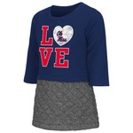 Colosseum Athletics Toddler Girls' University of Mississippi Glitter Dress