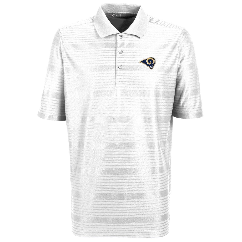 Antigua Men's St. Louis Rams Illusion Polo Shirt