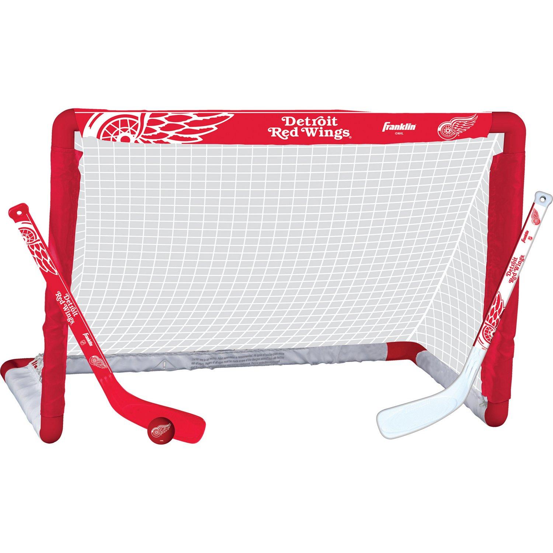 Franklin Detroit Red Wings Mini Hockey Goal Set