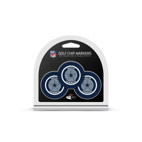 Team Golf Dallas Cowboys Poker Chip and Golf Ball Marker Set