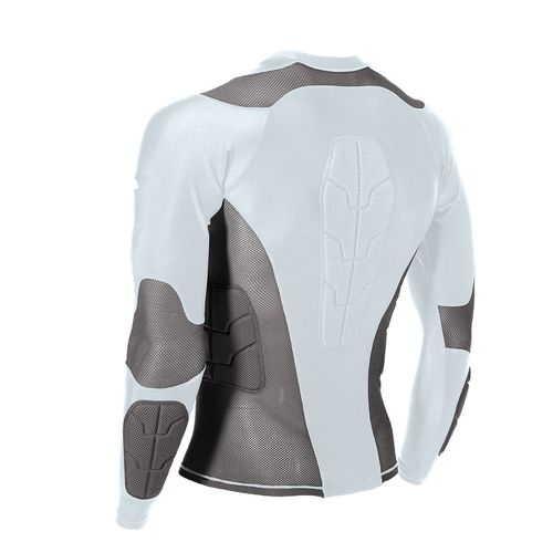 Century Adults' Padded Long Sleeve Compression Shirt - view number 2