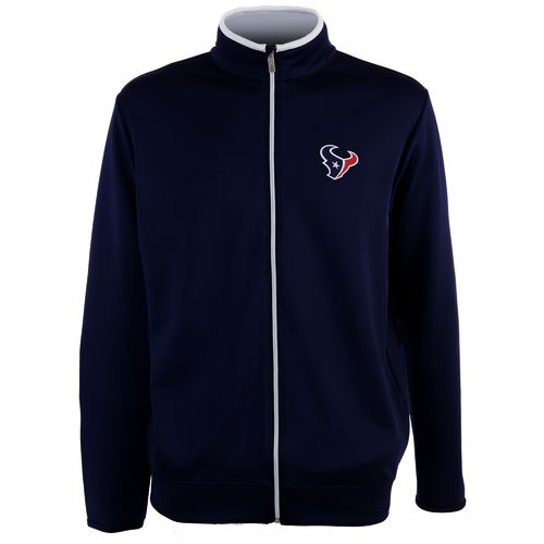 Antigua Men's Houston Texans Leader Jacket