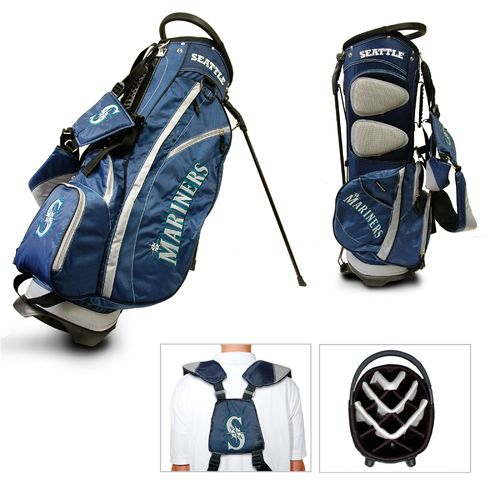 Team Golf Seattle Mariners Fairway 14-Way Stand Golf Bag - view number 1