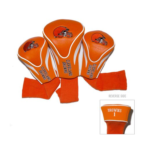 Team Golf Cleveland Browns Contour Sock Head Covers 3-Pack