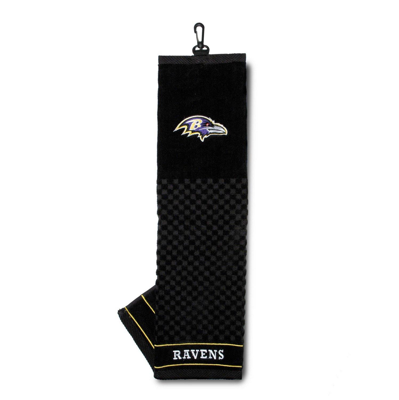 Team Golf Baltimore Ravens Embroidered Towel