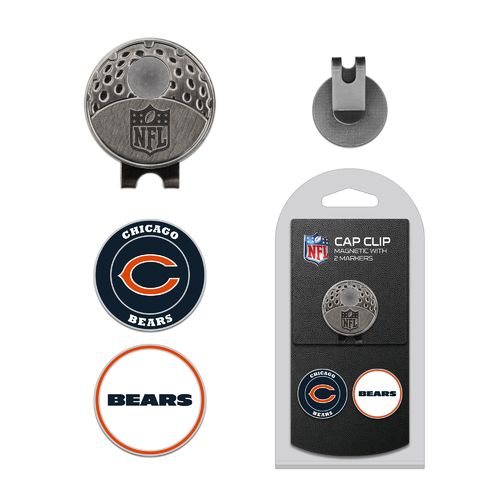 Team Golf Chicago Bears Marker Cap Clip - view number 1