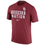 Nike Men's University of Oklahoma Legend Local Verb T-shirt
