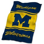 Logo University of Michigan Ultrasoft Blanket