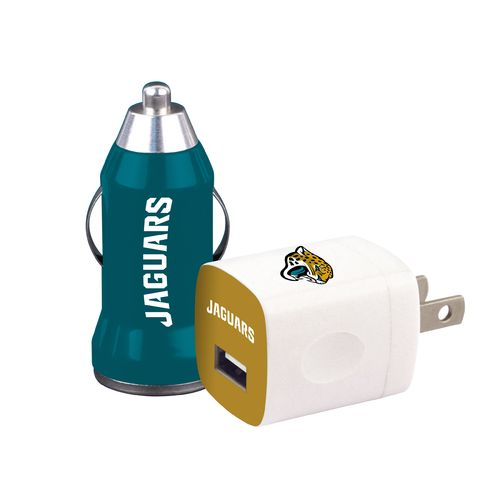Mizco Jacksonville Jaguars Home and Away USB Chargers