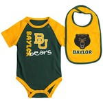 Colosseum Athletics Infants' Baylor University Rookie Onesie and Bib Set