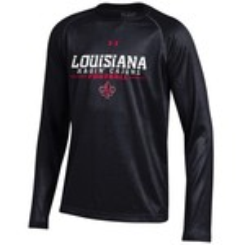 Under Armour® Boys' University of Louisiana at Lafayette Tech Long Sleeve T-shirt