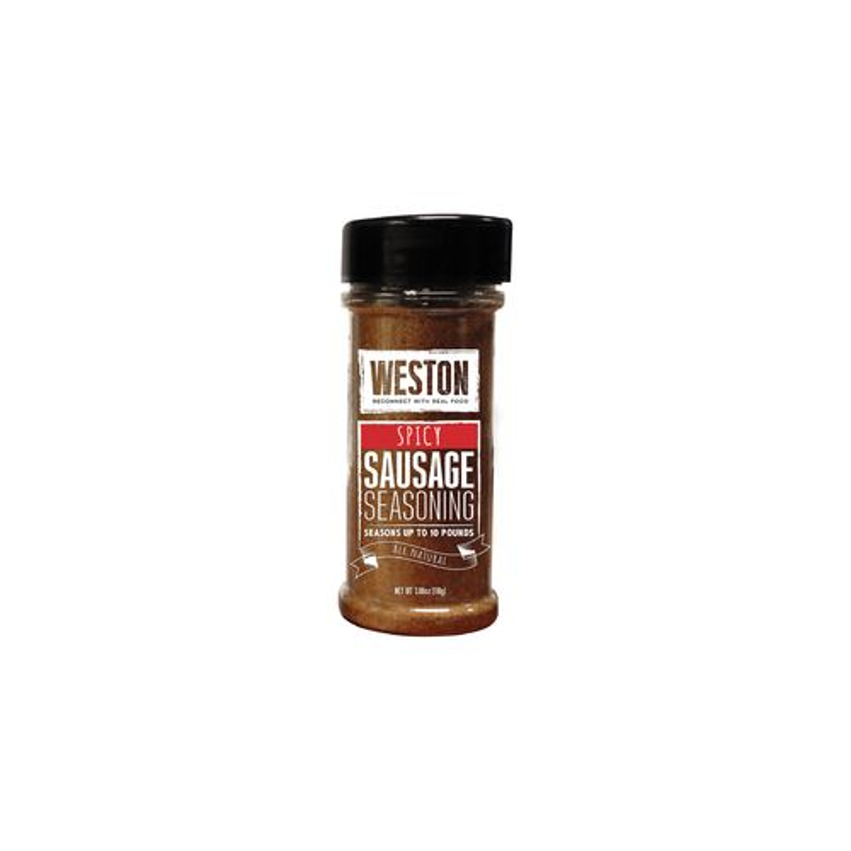 Weston Spicy Sausage Dry Seasoning