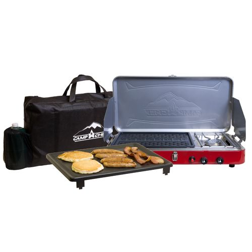Camp Chef Rainier Campers Combo 2-Burner Portable Gas