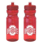 Boelter Brands Ohio State University 24 oz. Squeeze Water Bottles 2-Pack - view number 1