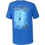 Salt Life Men's Hook Line Sinker Short Sleeve T-shirt