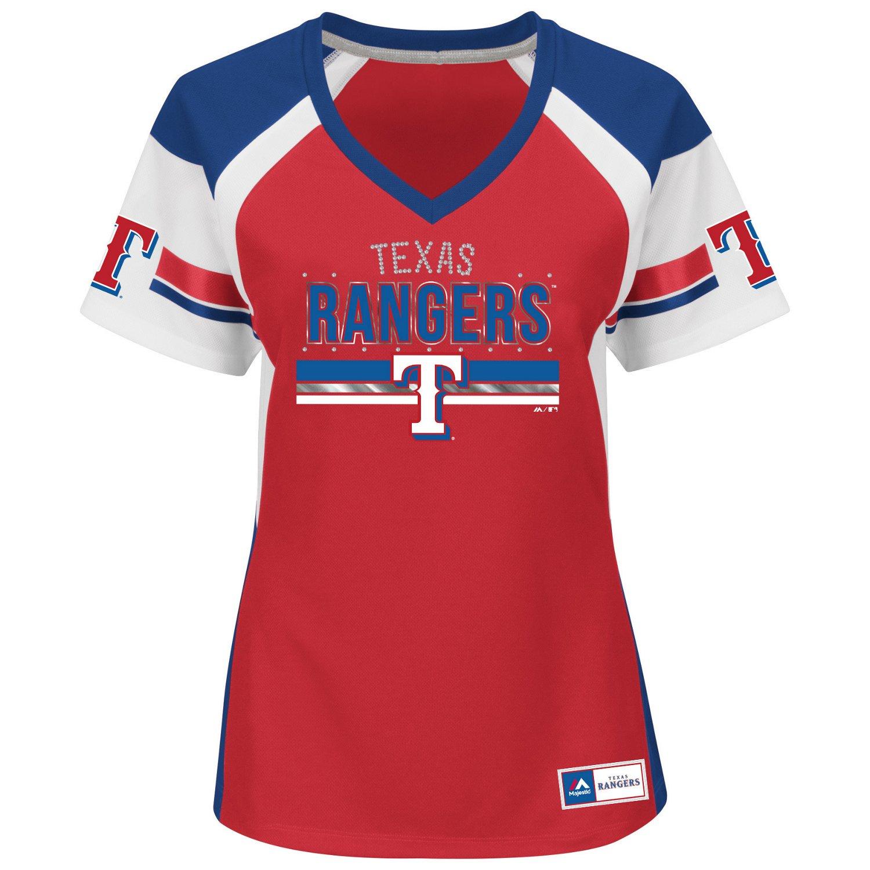 Majestic Women 39 S Texas Rangers Draft Me T Shirt Academy