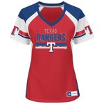 Majestic Women's Texas Rangers Draft Me T-shirt