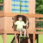 Backyard Discovery™ Oceanview Wooden Swing Set - view number 1