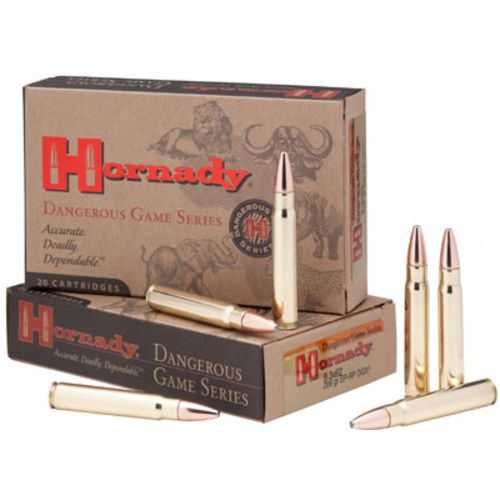 Hornady Dangerous Game InterLock Centerfire Rifle Rounds - view number 1