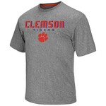 Colosseum Athletics Men's Clemson University Arena Short Sleeve T-shirt