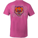 Image One Women's Sam Houston State University Fireworks Comfort Color T-shirt