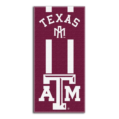 The Northwest Company Texas A&M University Zone Read Beach Towel
